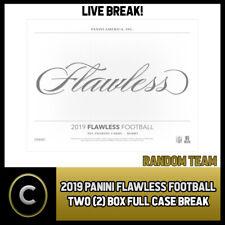 2018 PANINI LUMINANCE FOOTBALL 6 BOX HALF CASE BREAK #F039 PICK YOUR TEAM