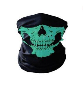 3x BANDANA SKULL HEAD FACE SHIELD MASK FISHING HEAD WEAR BIKER NECK TUBE SCARF