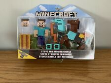 Minecraft, Steve And Armored Horse, Minecraft Toys, Kids Toys. New In Box.