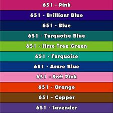 ORACAL 651 (5) 12 in x 12 in sheets -  48 COLORS to Choose from Great Price!