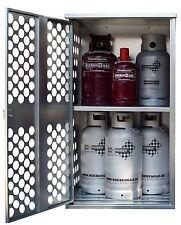 GOK Gasflaschenschrank mit Rückwand und ZWISCHENROST 155x84x69cm