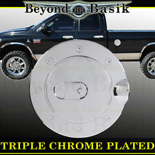 1994-2009 DODGE RAM 2500/3500 Triple ABS Chrome Fuel Gas Door Cover Cap Overlay