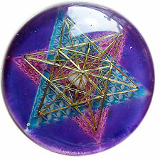 Merkabah Gold Divine Enlightment Resonator Metayantra Pranic Device, ORGONE