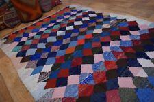 nr 230 Handgewebter VINTAGE Teppich aus WOLLE NOMADEN KILIM KELIM ca 245 x 138