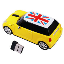 Car Wireless Mouse Game optical Mice BMW Mini Cooper USB for Laptop PC Xmas gift