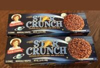 2 PK Little Debbie Star Crunch Cosmic Cookies Snack Cake Dessert 12 Per Box