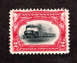 US Scott #295 MLH  XF.  SCV $15
