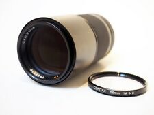 Contax Carl Zeiss 200mm f/4 Tele Tessar T*, Germany, Excellent+