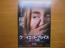 Emily Blunt A Quiet Place MOVIE FLYER mini poster Chirashi Japan 30-6