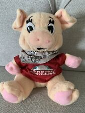 Harley Davidson Plush Bean Pig 1997 Official Licensed Product H-D Stuffed Animal
