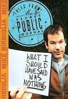 Mike Birbiglia What I Should Have Said DVD DISC & COVER ART ONLY NO CASE UNUSED