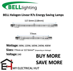 Halogen Linear R7s Energy Saving Lamps Flood Light 80W 120W 160W 240W 400W