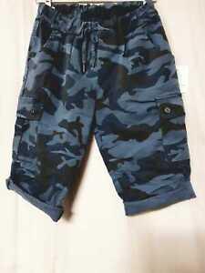 New Ladies Women Italian Camouflage Army Print Hot Paint Magic Shorts Summer
