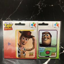 Toy Story Disney PIXAR  Buzz Lightyear & Woody  IPASS Card Taiwan  Shipping Free