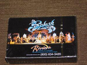 SPLASH RIVIERA LAS VEGAS  HOTEL CASINO PLAYING CARDS UNOPENED