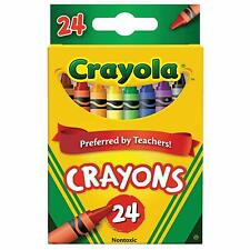 Crayola Crayons Box of 24 Classic Colors - 1 Pack