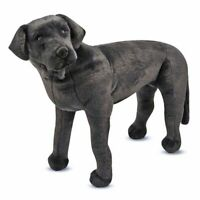 Melissa and Doug Black Lab Giant Plush Animal - 12117 - NEW!