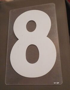 "Zip-Change Changeable Outdoor Sign 10"" Numbers White 12"" clear panel"