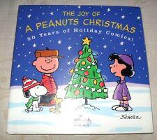 """THE JOY OF A PEANUTS CHRISTMAS""  HARDBACK BOOK ~LIKE NEW CONDITION~  SHIPS FREE"
