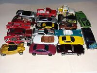 Hot Wheels Lot of 20 Diecast Cars 1:64 Matchbox Bonneville Roadster etc Loose