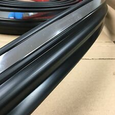 Black w/ chrome Body Side Molding Trim fits 1997-2004 Ford F-150 F-250 style