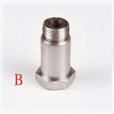 O2 M18 x1.5 stainless steel Silver Oxygen Sensor Lambda Extender Spacer Exhaust