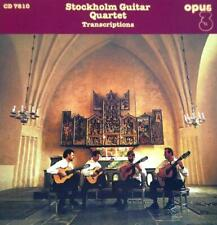 "Stockholm Guitar Quartet ""Transcriptions"" - OPUS3 CD 7810"