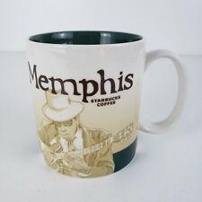 Starbucks Memphis Tn Global Icon City Series 2010 16oz Collector Coffee Mug