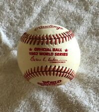 RAWLINGS 1982 WORLD SERIES OFFICIAL BASEBALL BOWIE KUHN COMMISSIONER