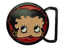 Betty Boop Rock n Roll Hot Rod Belt Buckle