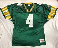 Vintage Wilson Brett Favre Green Bay Packers Football Jersey NFL Mens Size 54