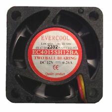 EVERCOOL 40mm X 15mm Dual Ball Bearing High Speed Fan EC4015SH12BA