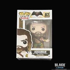 Funko Pop! Aquaman DC Comics Batman Vs Superman Dawn Justice Green 87 Vaulted