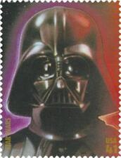 2007 Darth Vader Anakin Skywalker 30th Anniversary Star Wars IV US Stamp MINT !