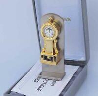Bulova Miniature Worthington B0531 Clock Solid Brass