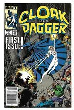 1985 Cloak and Dagger Premiere #1 issue from Marvel Comics