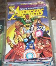 Avengers #0 (1999, Marvel / Wizard) rare ultron unlimited preview