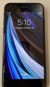 Apple iPhone SE 2nd Gen (2020) 128GB Unlocked AT&T T-Mobile Verizon Good cond