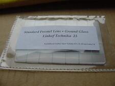 New Linhof  Technika 23 Camera Fresnel Lens + Ground Glass-Best quality