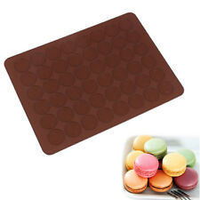 Kitchen 48 Hole Cake Mold Silicone Baking Mat Large Macaron Biscuit DIY Mold *tr
