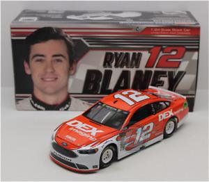 NASCAR 2018 RYAN BLANEY #12 DEX IMAGING 1/24 CAR