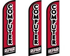 Computer Repair Windless King Size Flag  Pack of 3 (HARDWARE NOT INCLUDED)