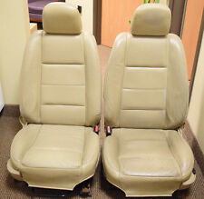 03 04 05 06 FORD MUSTANG LEATHER POWER SEAT SEATS  TAN SET OEM