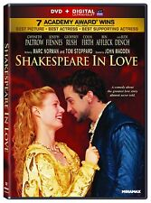 Shakespeare In Love dvd New, free shipping