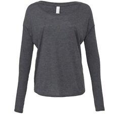 Viscose Long Sleeve Machine Washable Regular T-Shirts for Women