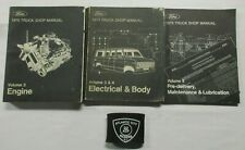 1975 Ford Truck F-100 F-150 F-250 Bronco Service Shop Manuals (Volumes 2-5 Only)