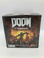 Doom Eternal Promo Promotional Display Box w/ Previous Release Date / RARE HTF