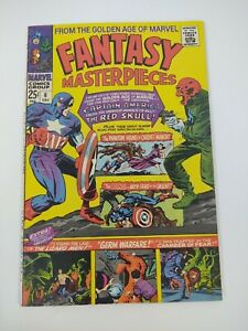 Fantasy Masterpieces 6 1966 Marvel Comics/Red Skull/Captain America