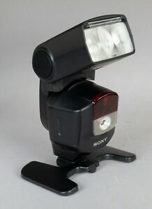 Sony HVL-F43M Flash - Very Good Condition - with Original Box, Case, Stand