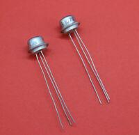 1985 Lot #10 pcs 2N220, 2N222, AC160, AC160A P28 Germanium Transistor USSR